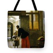 Hooch Boy & Bread, C1663 Tote Bag