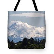 Hood In The Clouds  Tote Bag