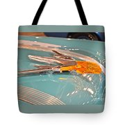 1955 Pontiac Hood Ornament Tote Bag