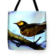 Hooded Warbler - Img 9290-002 Tote Bag