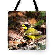 Hooded Warbler - Img_9349-001 Tote Bag