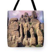 Hoodoo In The Superstition Mountains Tote Bag