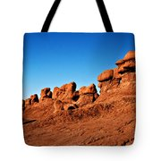 Hoodoos Row Tote Bag