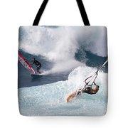 Ho'okipa Windsurfers Tote Bag