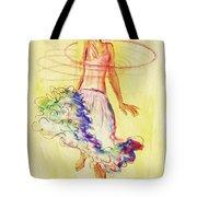 Hoop Dance Tote Bag by Angelique Bowman