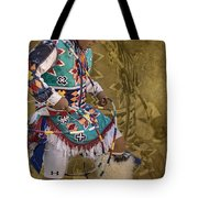 Hoop Dancer Past And Present Tote Bag