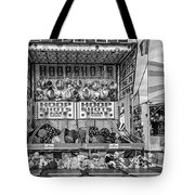 Hoop Shots Bw Tote Bag