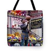 Hoop Shots Tote Bag