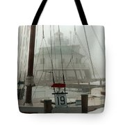 Hooper Straight Lighthouse Tote Bag