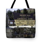 Hoosier Pass Tote Bag