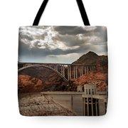 Hoover Dam Bridge Tote Bag