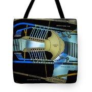 Hoover Dam Diagram Tote Bag