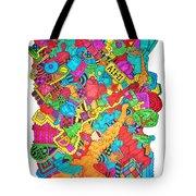 Hooya Tote Bag by Chelsea Geldean