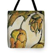 Hop Harvest Tote Bag by Alexandra Ortiz de Fargher