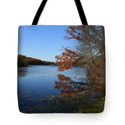 Hopeville Autumn Reflections     Tote Bag