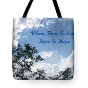 Hope Tote Bag by Aimee L Maher Photography and Art Visit ALMGallerydotcom