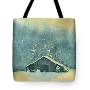 Hope Amidst The Storm Tote Bag