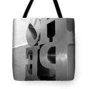Hope Askew In Black And White Tote Bag