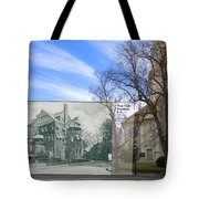 Hope Club And First Unitarian Church In Providence Ri Tote Bag