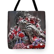 Hope Faith And Charity Tote Bag