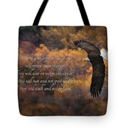 Hope In The Lord Tote Bag