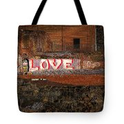 Hope Love Lovelife Tote Bag