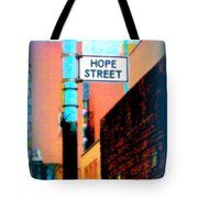 Hope Street Tote Bag