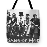 Hopeful Fishermen Tote Bag