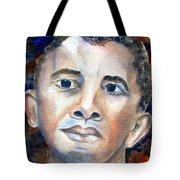 Hopeful - President-elect Tote Bag by Carlin Blahnik