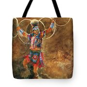 Hopi Hoop Dancer Tote Bag