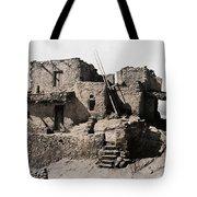 Hopi Hilltop Indian Dwelling 1920 Tote Bag