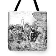 Hopi Indian Snake Dance Tote Bag