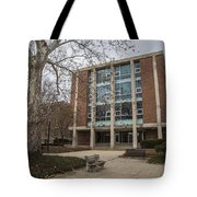 Hopkins Hall And Tree Osu  Tote Bag