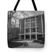 Hopkins Hall Osu Black And White  Tote Bag