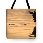 Hopping On Water Tote Bag