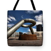 Horace Dodge Fountain Hart Plaza Detroit Michigan  Tote Bag