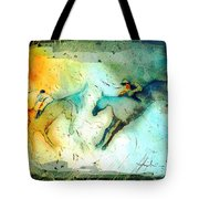 Horse Racing 02 Madness Tote Bag