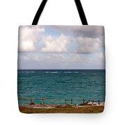 Horizon At Tulum Tote Bag