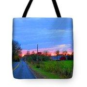 Horizon Sunset Tote Bag