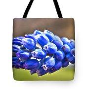 Horizontal Bluebell Tote Bag