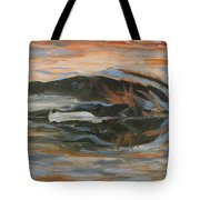 Horizontal Horse Tote Bag