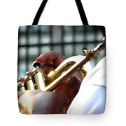 Horn Player Pk 0071 Tote Bag