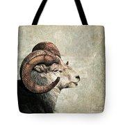 Horned Tote Bag by Priska Wettstein
