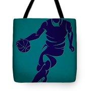 Hornets Basketball Player3 Tote Bag