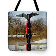Horninglow Linear Park Signpost Tote Bag
