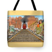 Horn's Junction Tote Bag