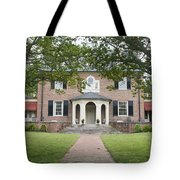 Hornsby House Inn Yorktown Tote Bag by Teresa Mucha