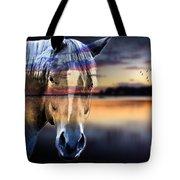 Horse 6 Tote Bag by Mark Ashkenazi