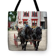 Horse And Buggy Sc3643-13 Tote Bag