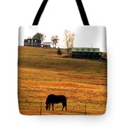 Horse And Farm By Jan Marvin Tote Bag
